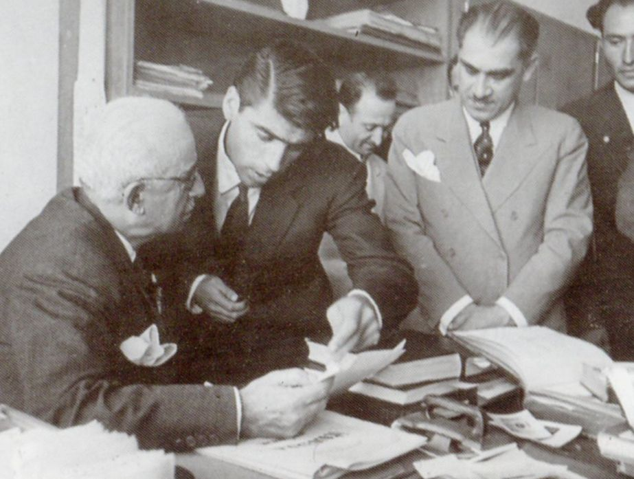 The Faculy contruction was finaly completed in 1940. The Faculty was opened by President İsmet İnönü during his visit to commemorate the completion of the construction (Erdinç Bakla archive)