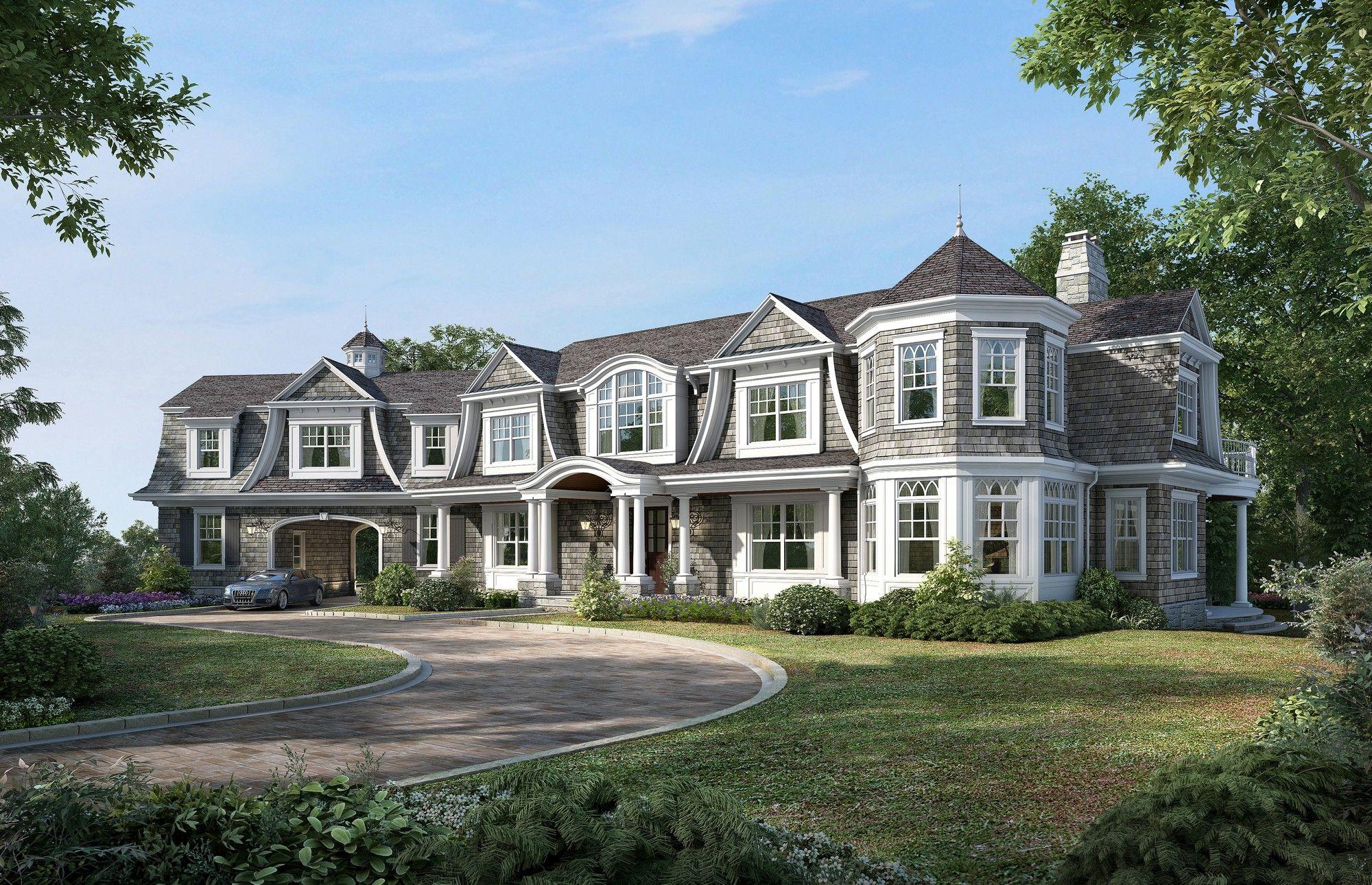 Shingle Style House Design Google Search Shingle Style Shingle Style Homes Mansions