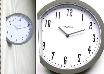 Cool Concept The Insert Clock Designed By Leo Yiu Chun Pong Unusual Clocks Clock Design Clock