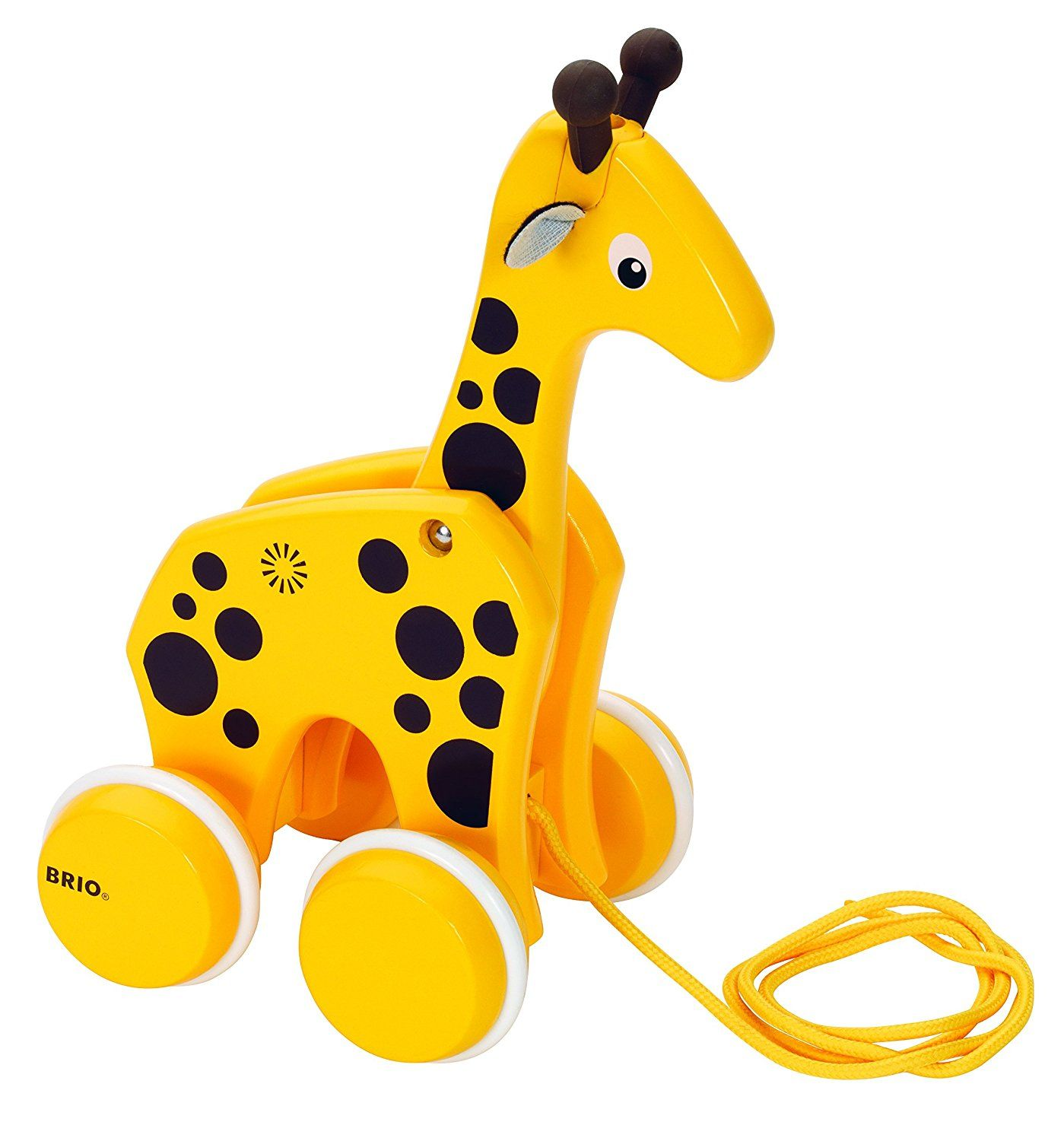 BRIO Infant & Toddler Pull along Giraffe Amazon Toys