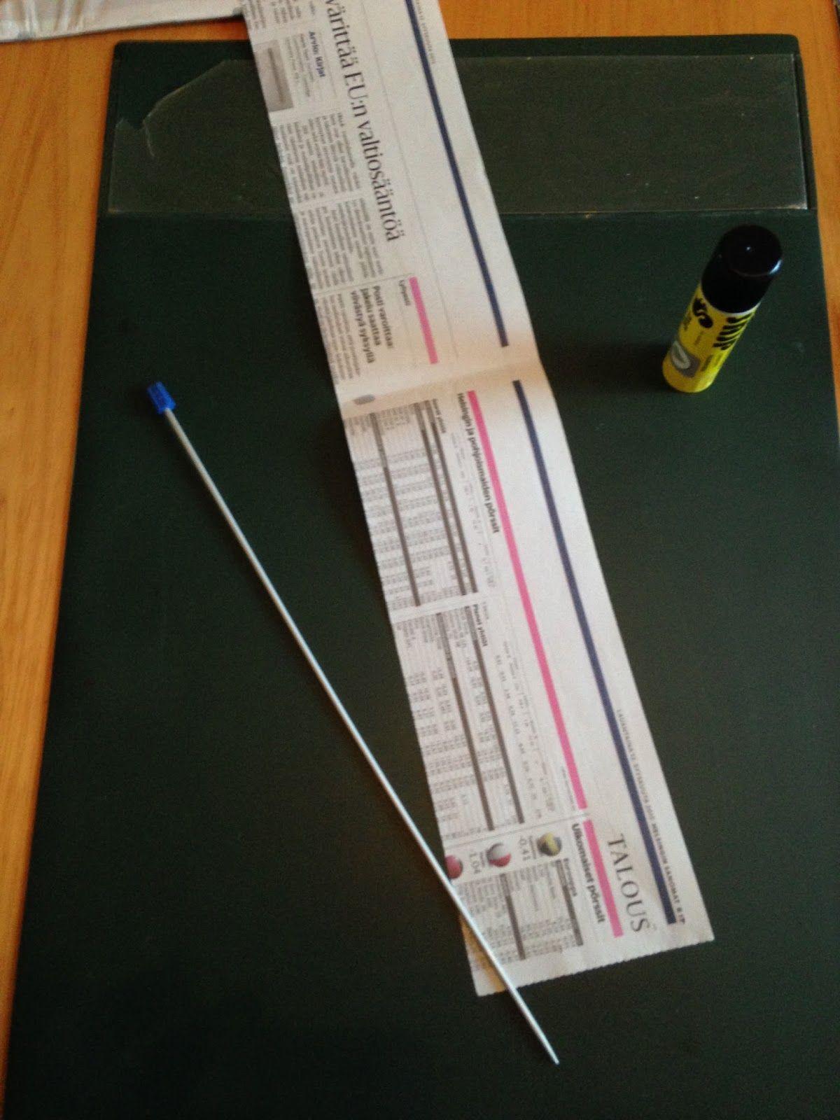 Olarin Martat ry: Kori sanomalehtipaperista - valmistelut