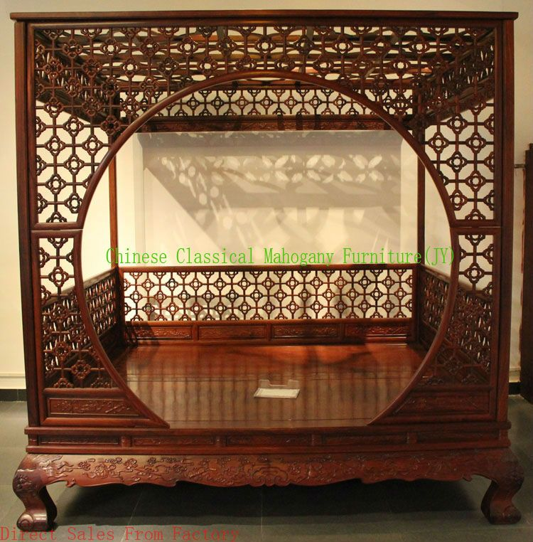 Chinese Clical Mahogany Furniture Rosewood Bedroom Style Bed Tradition Luxurious Retro 20 000 00