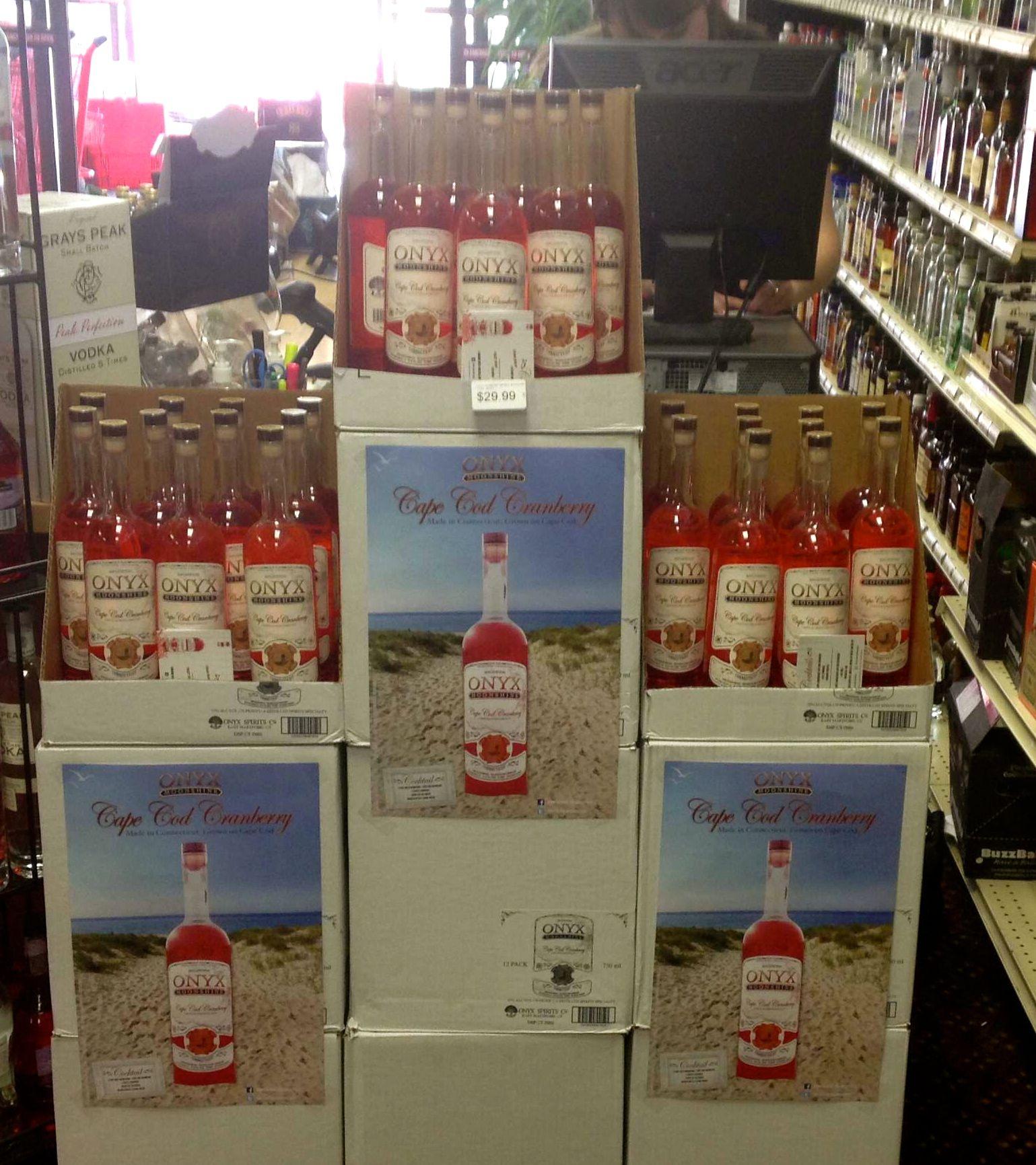 Liquor Store Display Cape Cod Cranberry Pinterest