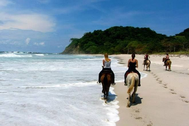 Jungle, River & Beach. Horse riding Costa Rica. www.stable-mates.com