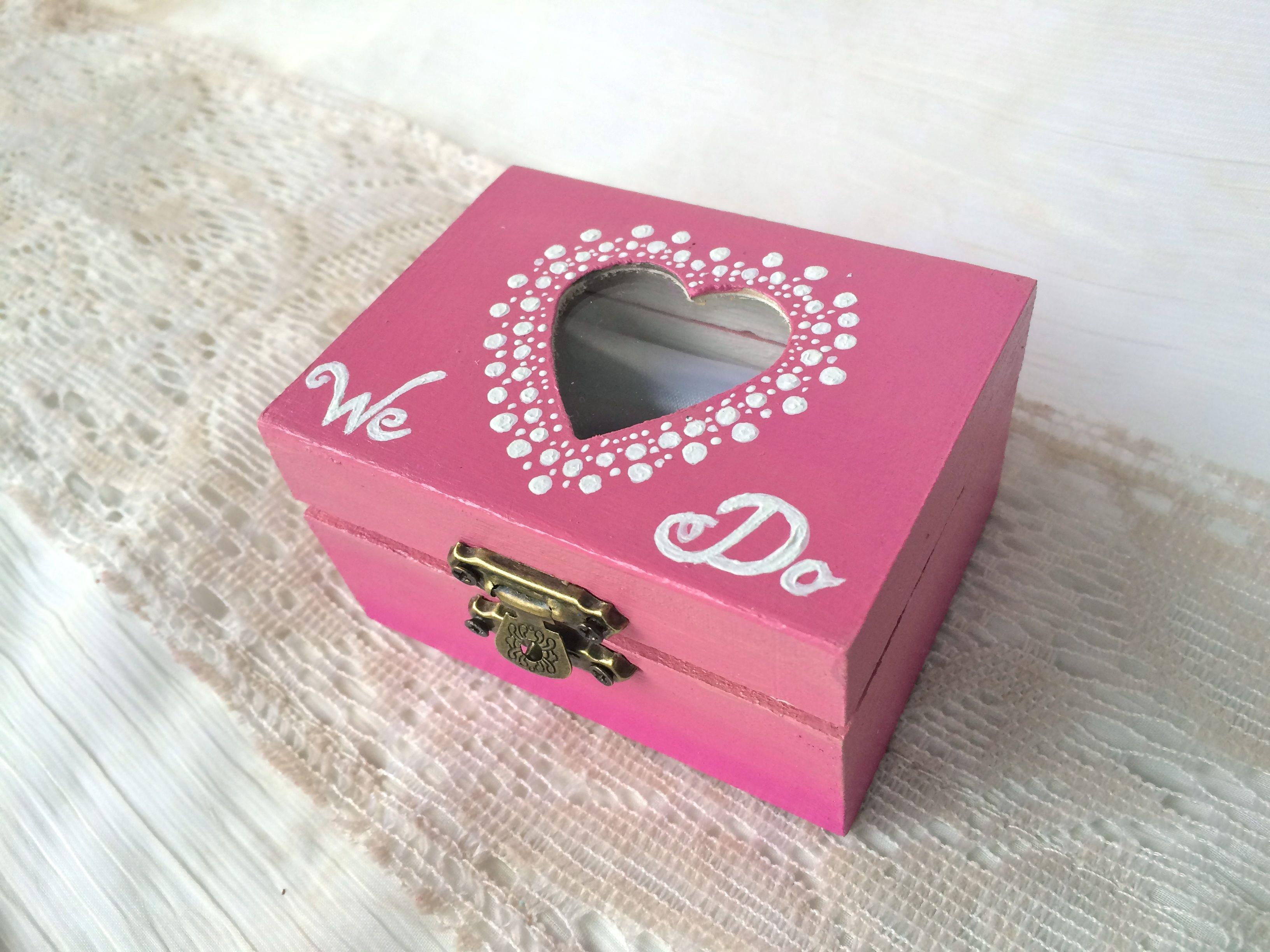 PINK Wedding ring box   WEDDING Ring Boxes :)   Pinterest   Wedding ...