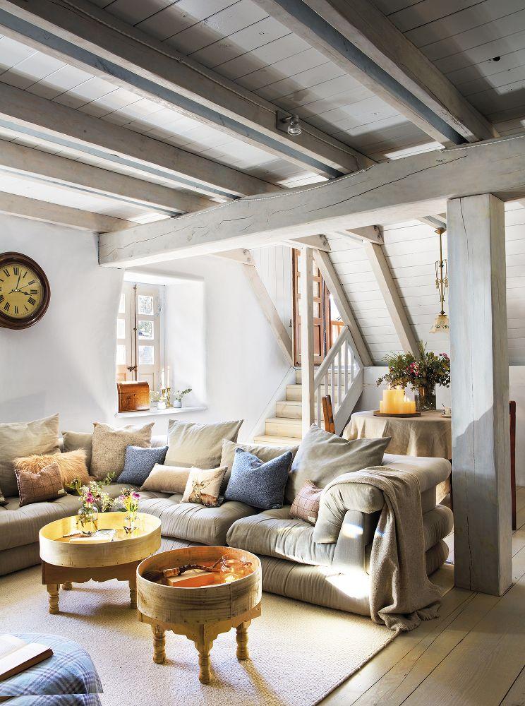 Une maison ancienne rénovée à la montagne - PLANETE DECO a homes ...