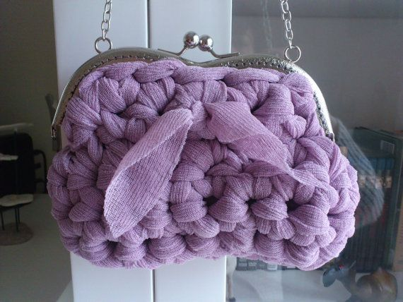 Evening bag by Tamknitting on Etsy, €18.00
