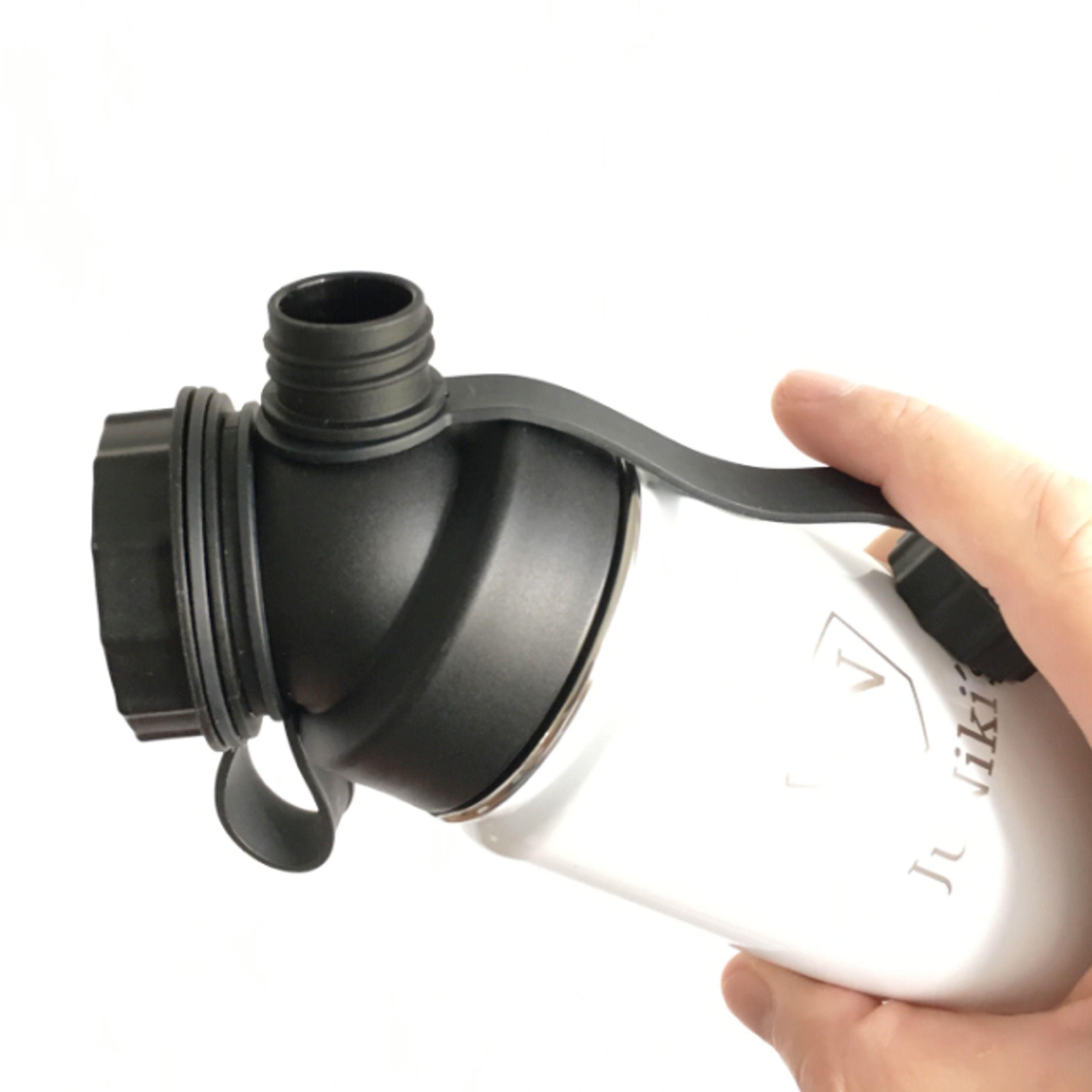 JuNiki´s Double Neck, die innovative Trinkflasche
