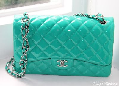 68134a1bcf75 Turquoise Chanel Classic Flap Bag- Spring 2010 Collection | Handbags ...