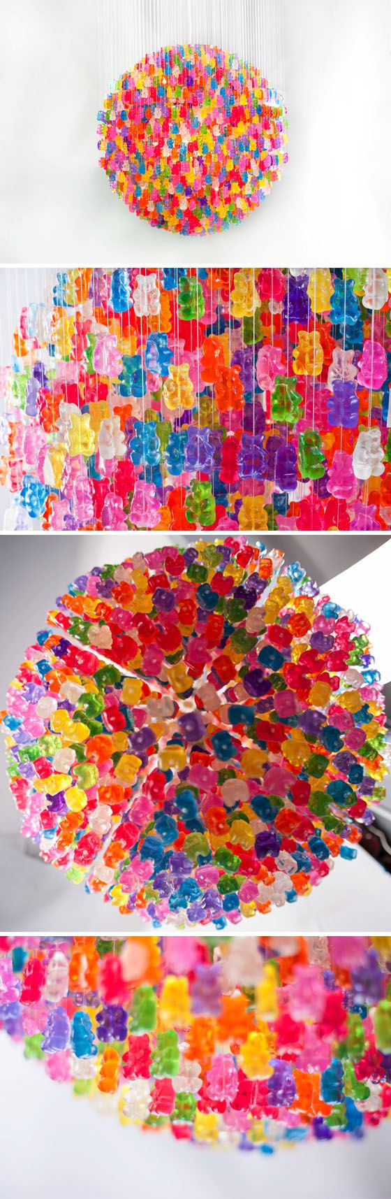The candelier by kevin champeny made out of 3000 acrylic gummy the candelier by kevin champeny made out of 3000 acrylic gummy bears neat arubaitofo Image collections