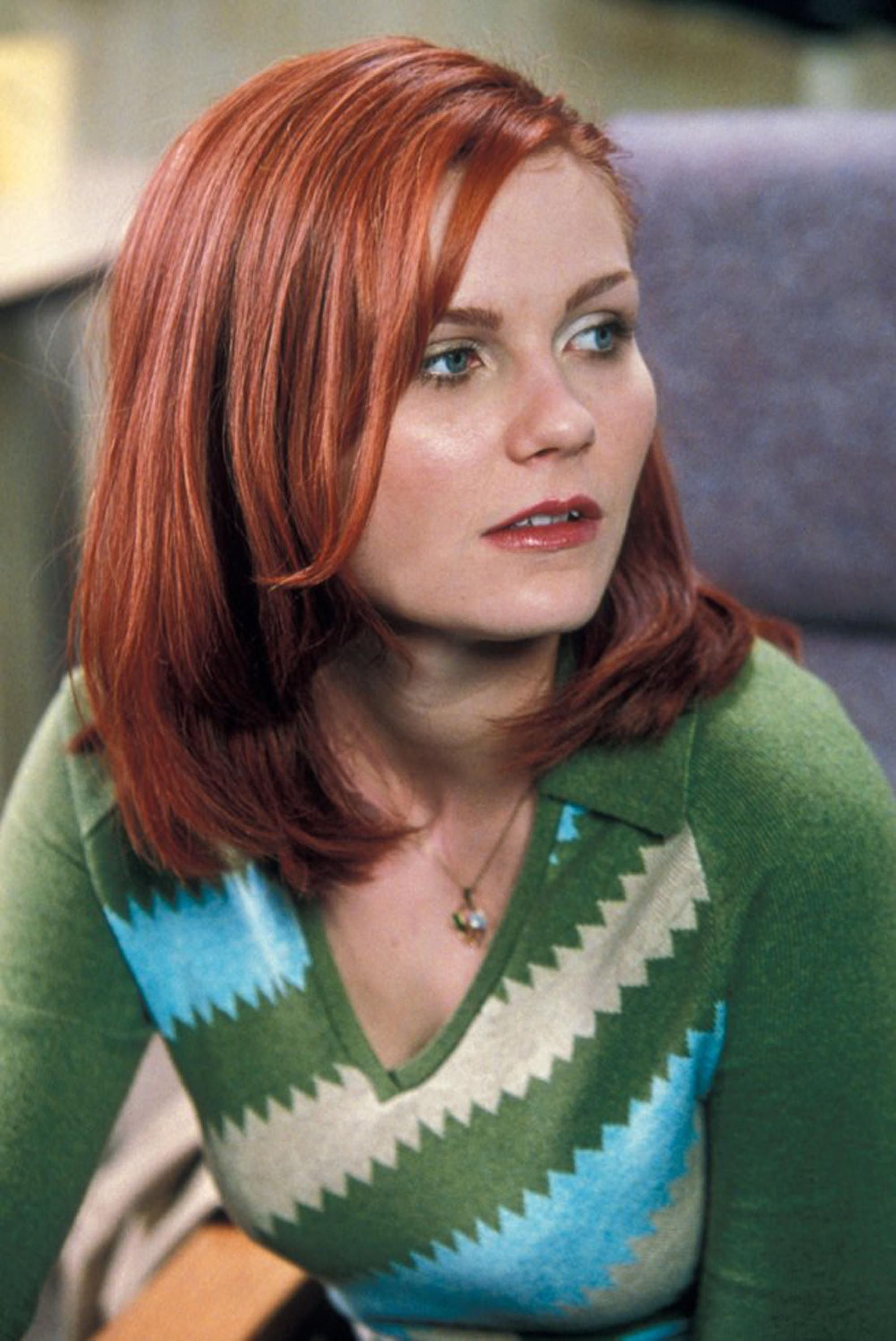 kirsten dunst as mary jane watson - spider-man | women of science