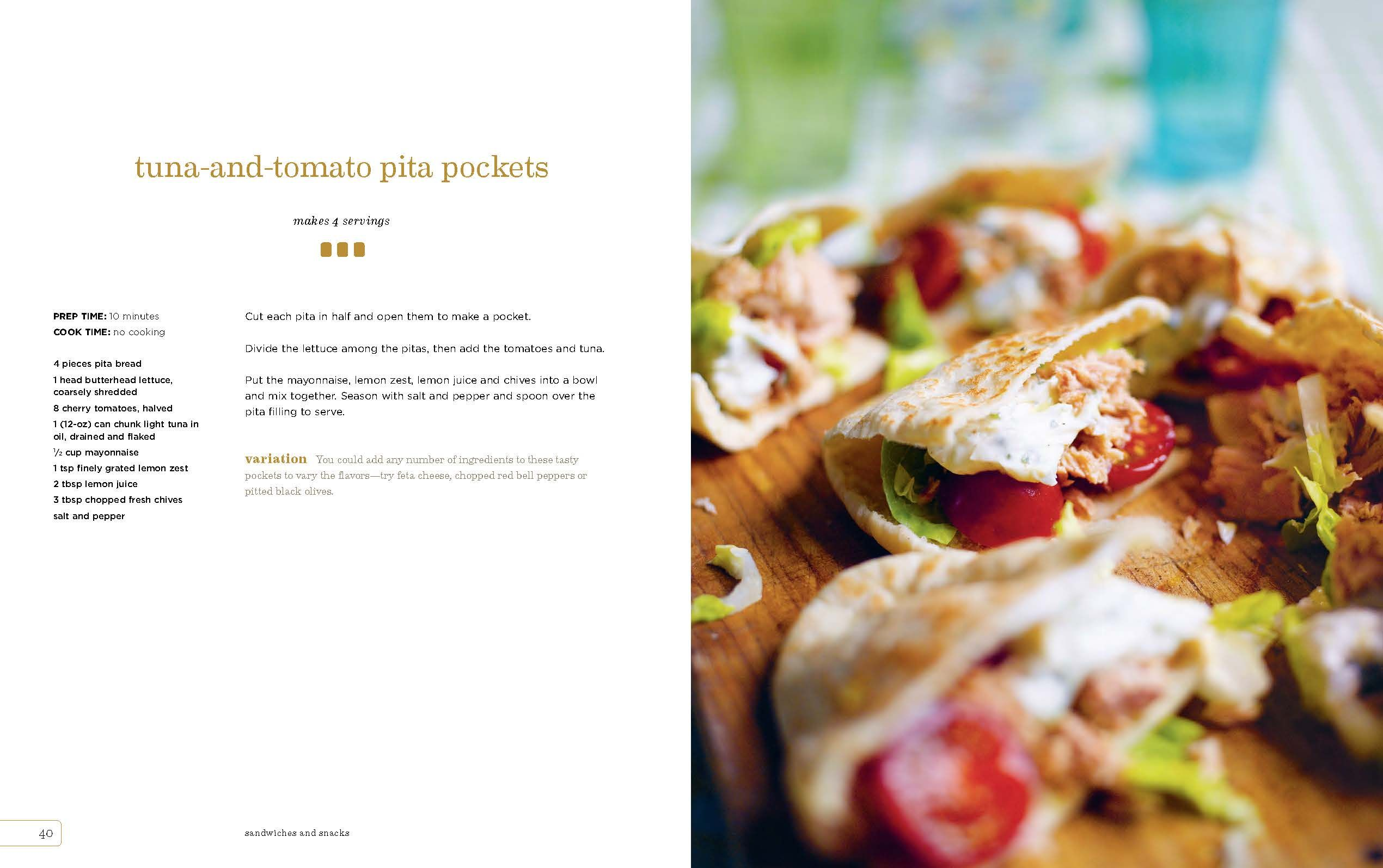 Tuna and tomato pita pockets #recipe | TLC KITCHEN | Pinterest ...