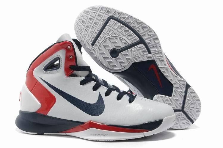 Nike Hyperdunk 2010 Womens All White Navy Sport Red  24e2bee178