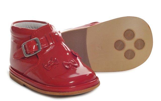 Baby Girls Red Patent Boot | Mariella