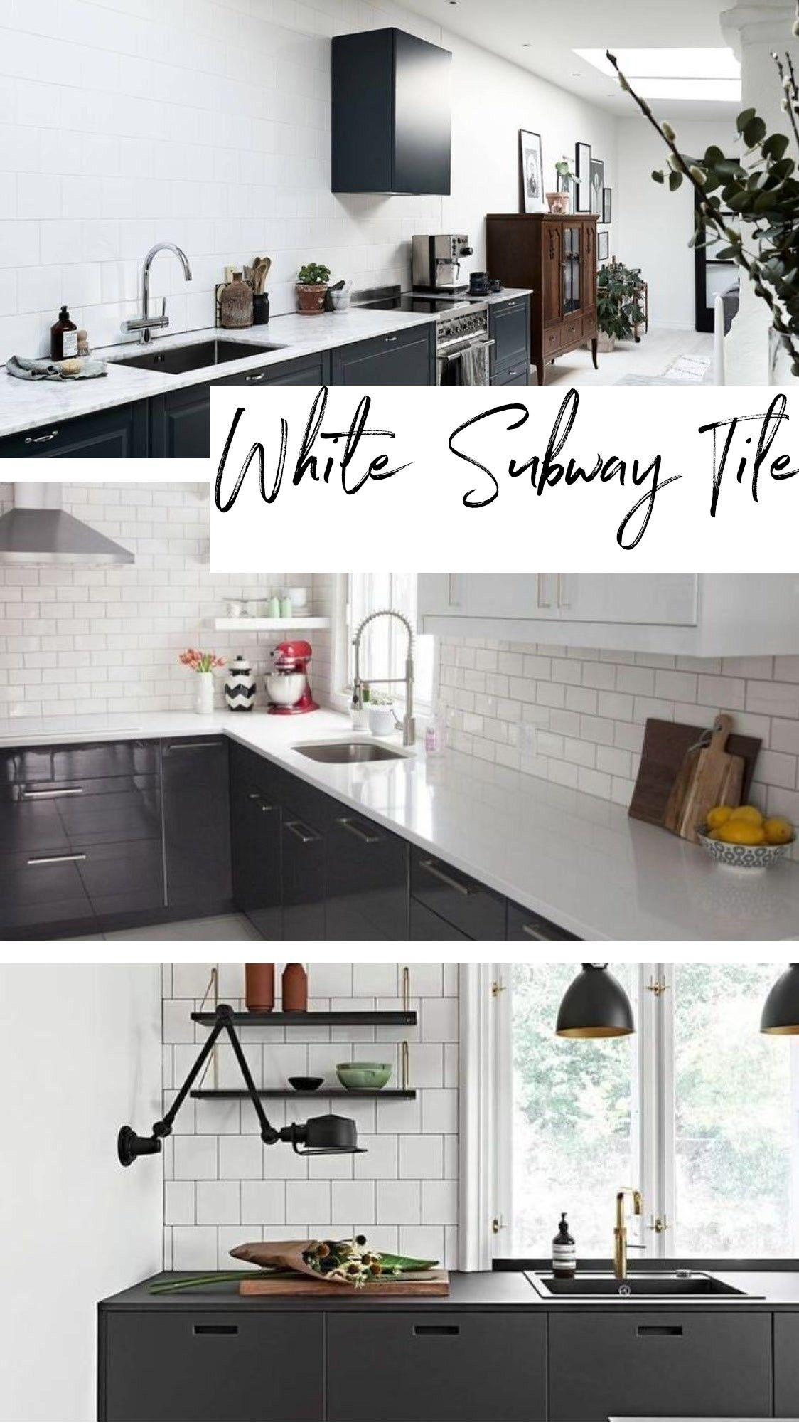 White Subway Tile Backsplash White Subway Tile Backsplash Countertops Kitchen Tiles Backsplash