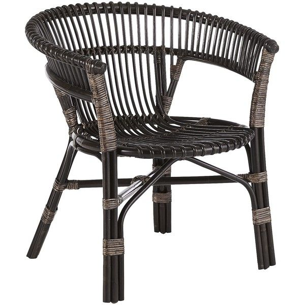 Pier 1 Imports Brown Bahasa Stacking Chair ($100) ❤ Liked On Polyvore  Featuring Home