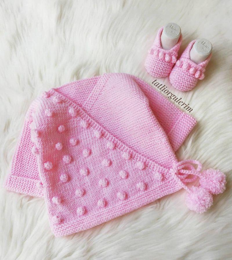 Çok Sipariş Alan 57 Bebek Yelek Hırka Patik Örgü Modelleri