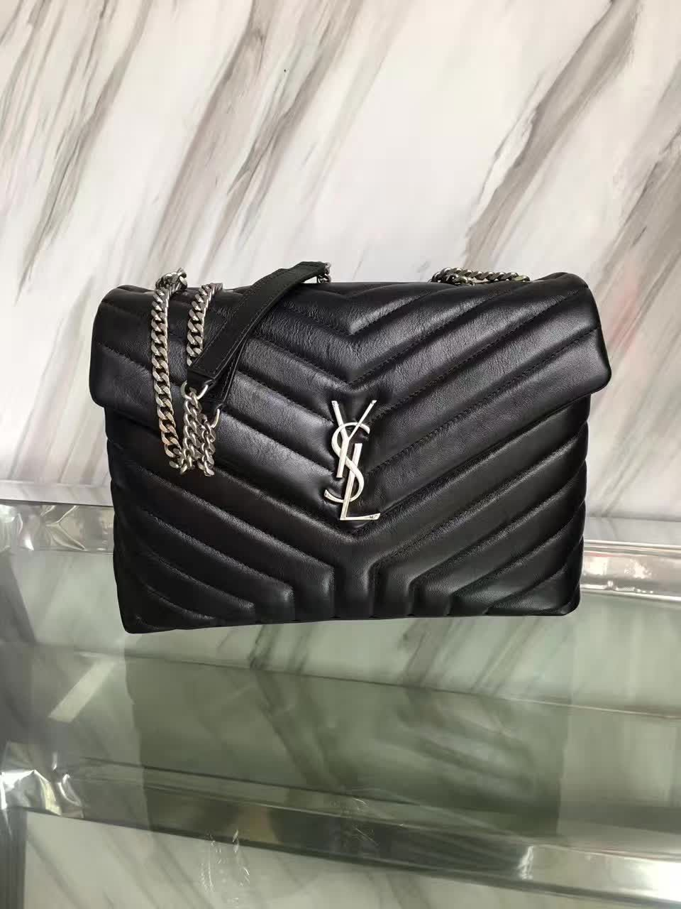 38120c8ecb12 The BEST YSL MONOGRAM LOULOU Counter Quality Replica Available Online!  Experience the Designer Discreet difference by shopping with us today!