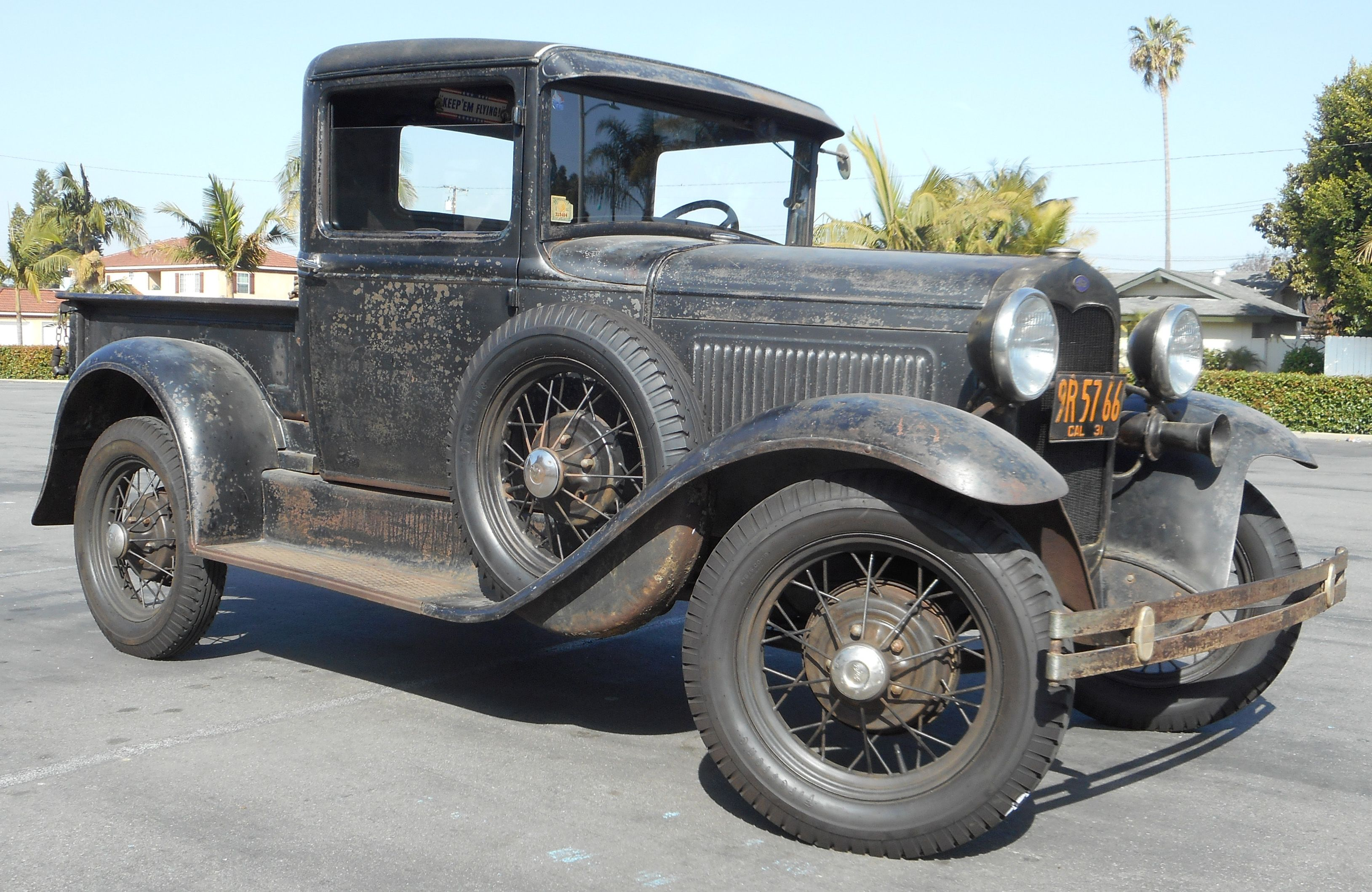 Late 1930 Ford Model A Pickup Truck It S Original Only Once