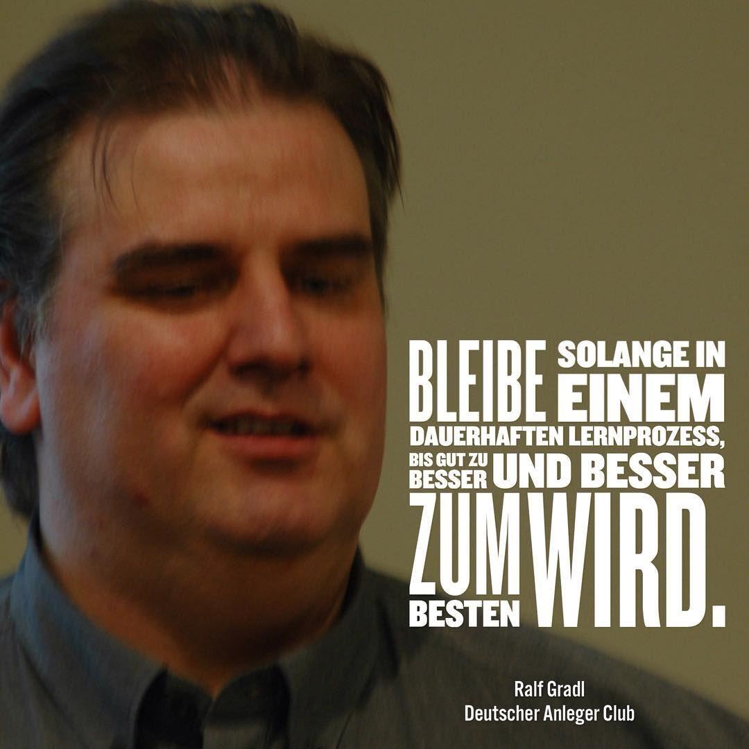 Real People - Real Success.  Ralf ist einer unsere engagierten Trainer, Trader und Coach, der immer ein wachsames Auge hat.