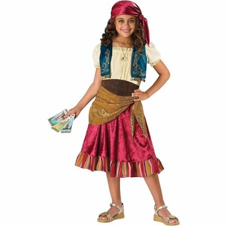 Gypsy Girl Child Halloween Costume