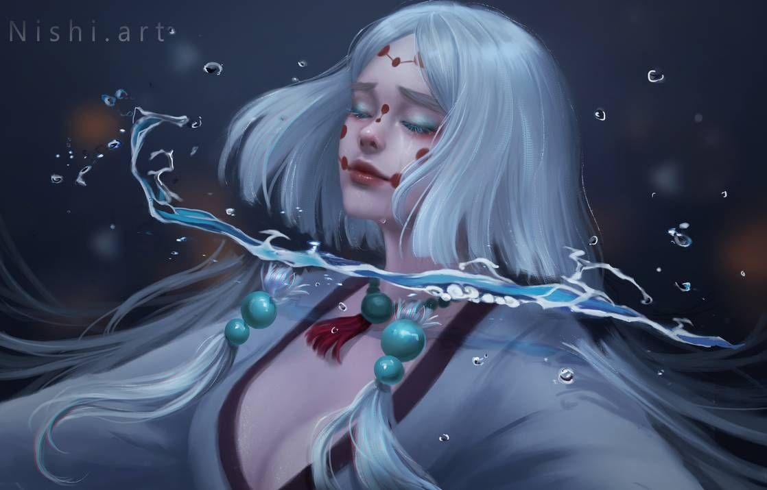 Mother Spider Demon By Nishihiku On Deviantart Anime Demon Dragon Slayer Demon