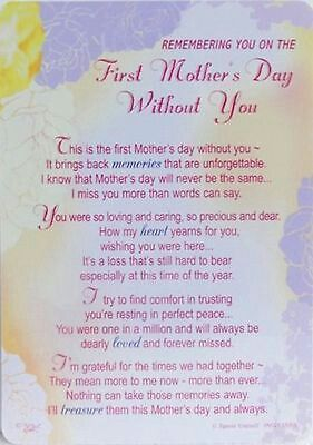 First Mothers Day Without You Mom In Heaven Mother S Day In Heaven Mothers Day Quotes
