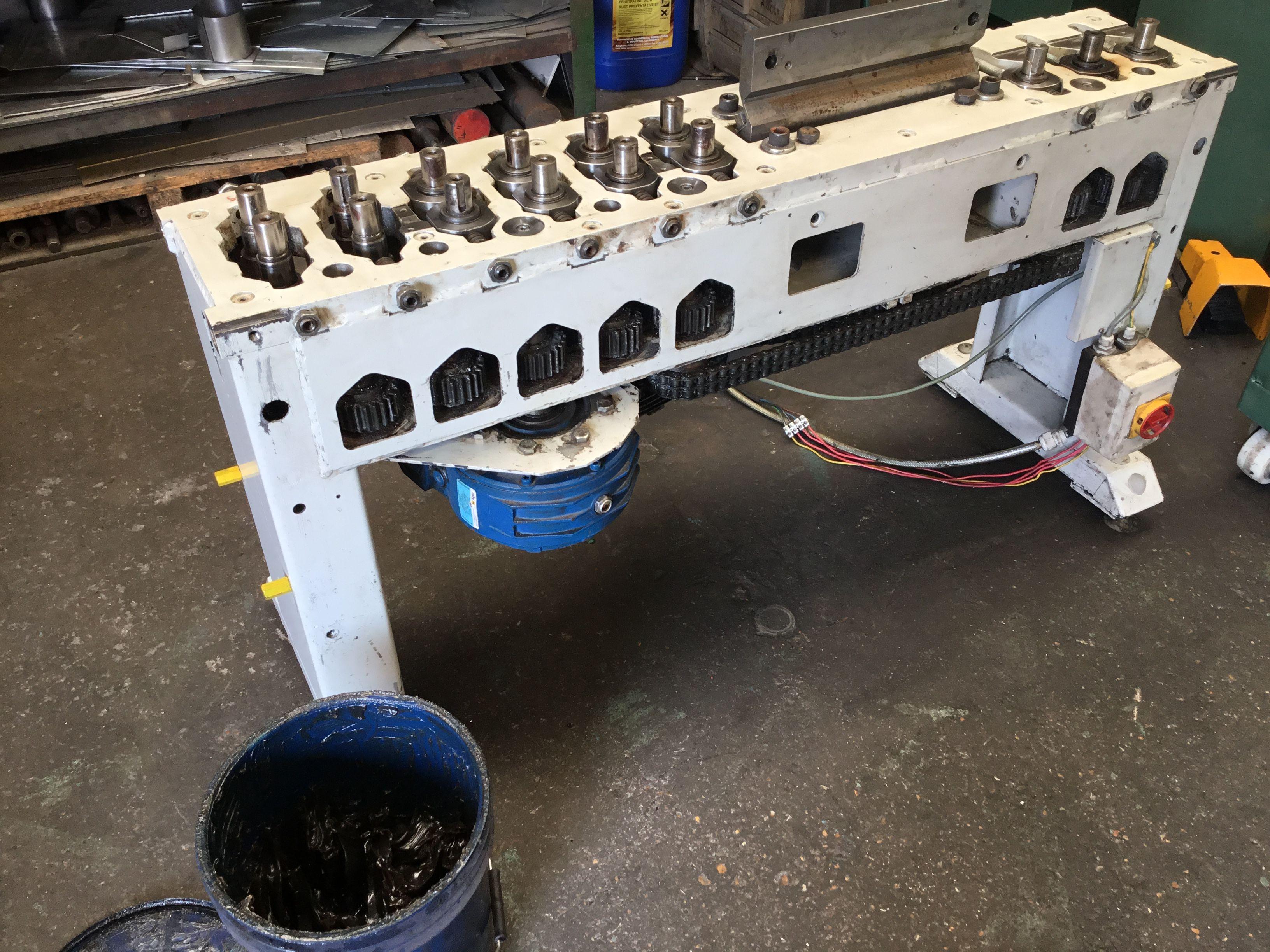 Ras Ductseamer Duct Seamer Ductzipper Duct Zipper Service Repair Repair