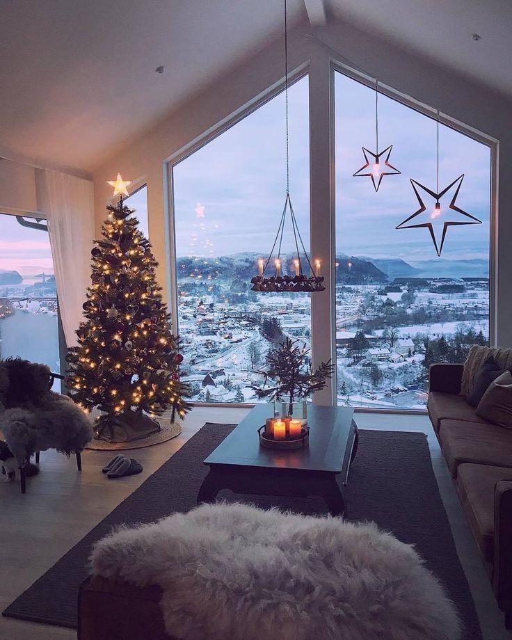 Photo of Decoración del hogar para el invierno – Ideas de decoración navideña – Decoración del hogar – Diseño de interiores … htt …