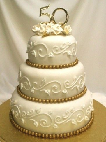 50th Wedding Anniversary Cakes.Photo Gallery 50 Golden Years Anniversary Cake 50th 50th