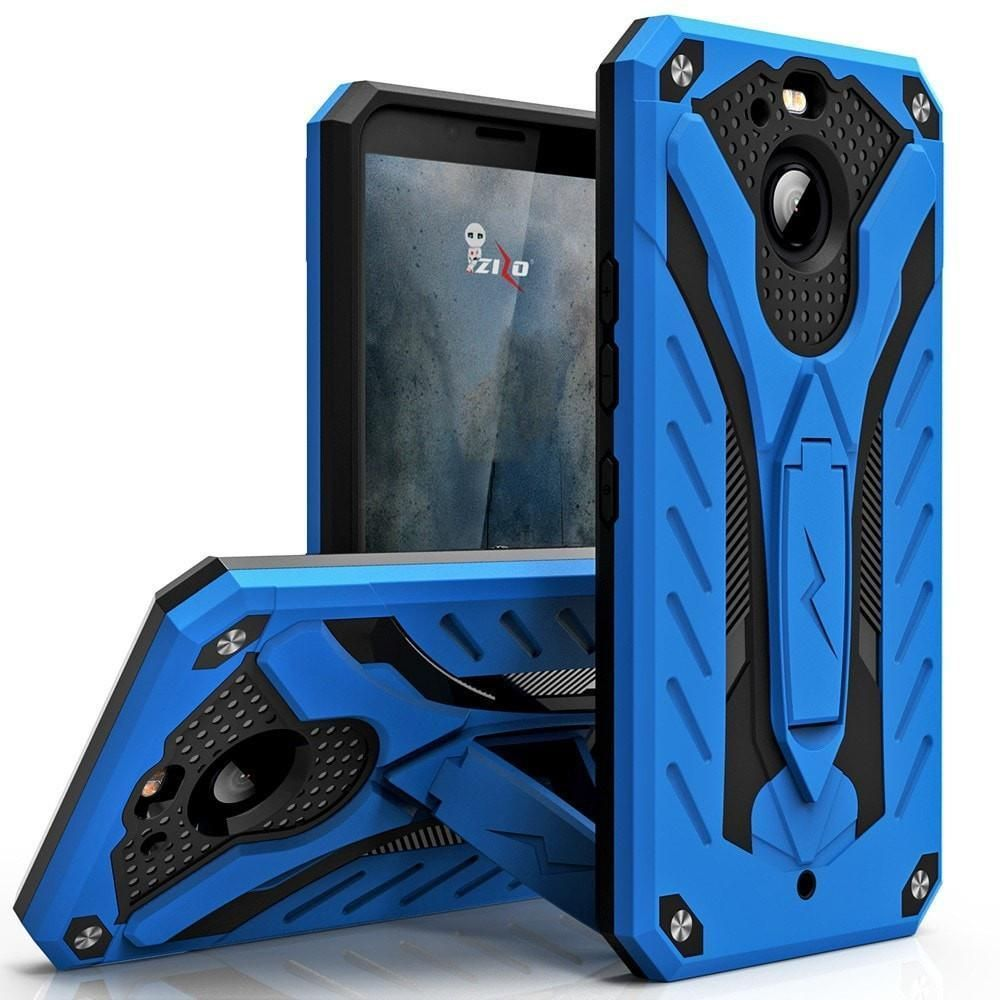How can you tell if you have black mold  Zizo STATIC Kickstand HTC BOLT Case  BlueBlack  Toxic Mold