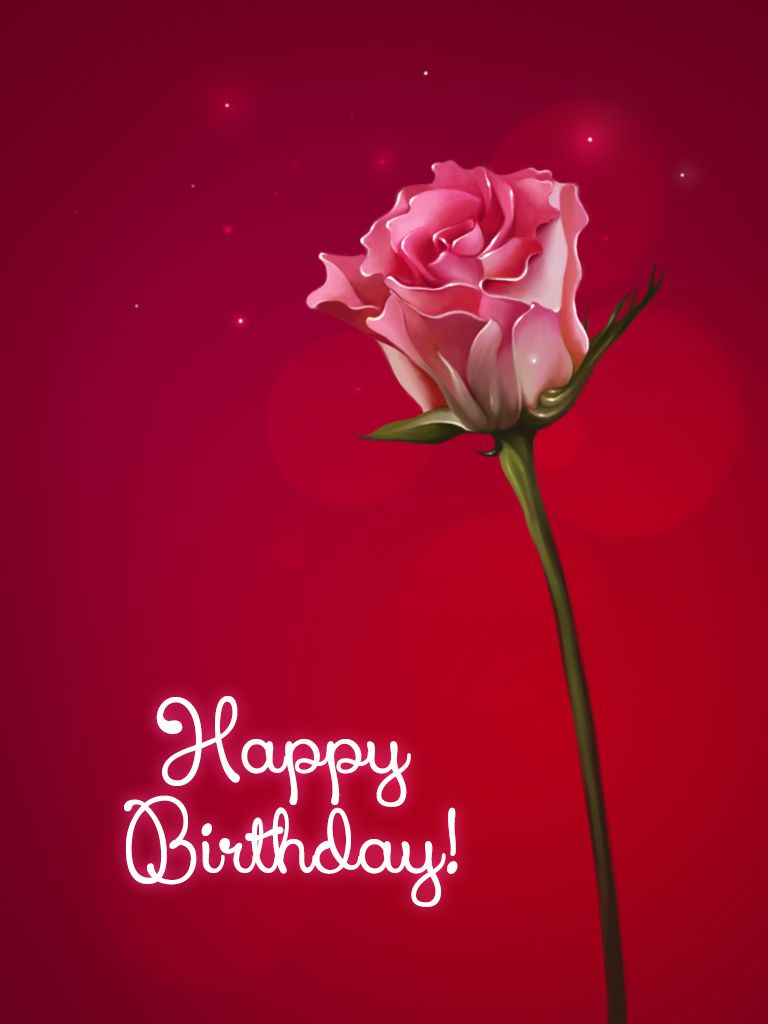 Happy Birthday Pictures With Roses - wallpaper hd