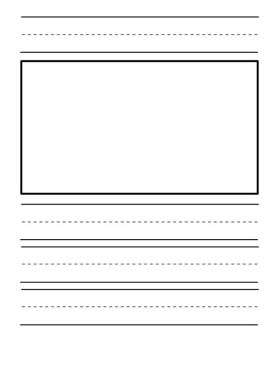 kindergarten journal paper templates educational materials