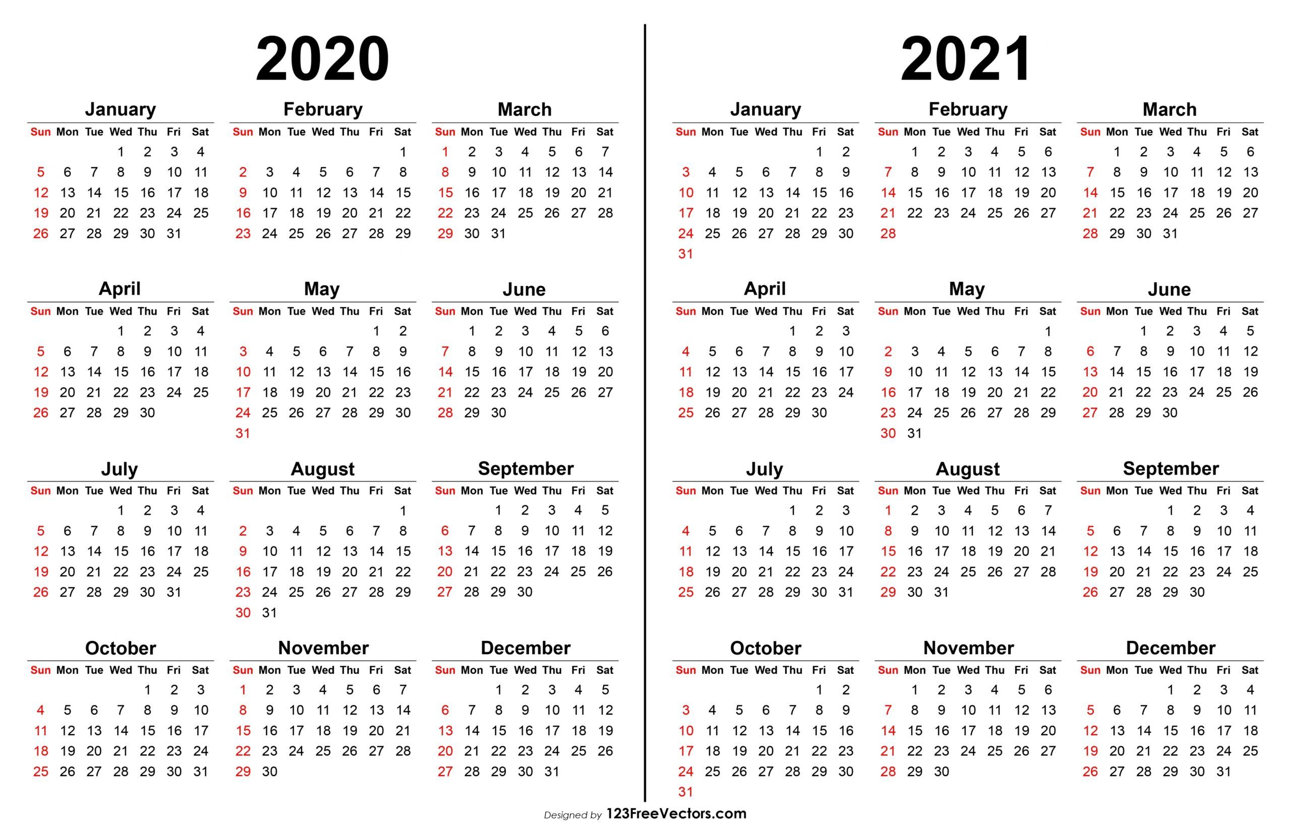 Delightful To The Blog On This Moment I Ll Provide You With With Regards To 2020 2021 Printable C In 2020 Calendar Printables Print Calendar Printable Yearly Calendar