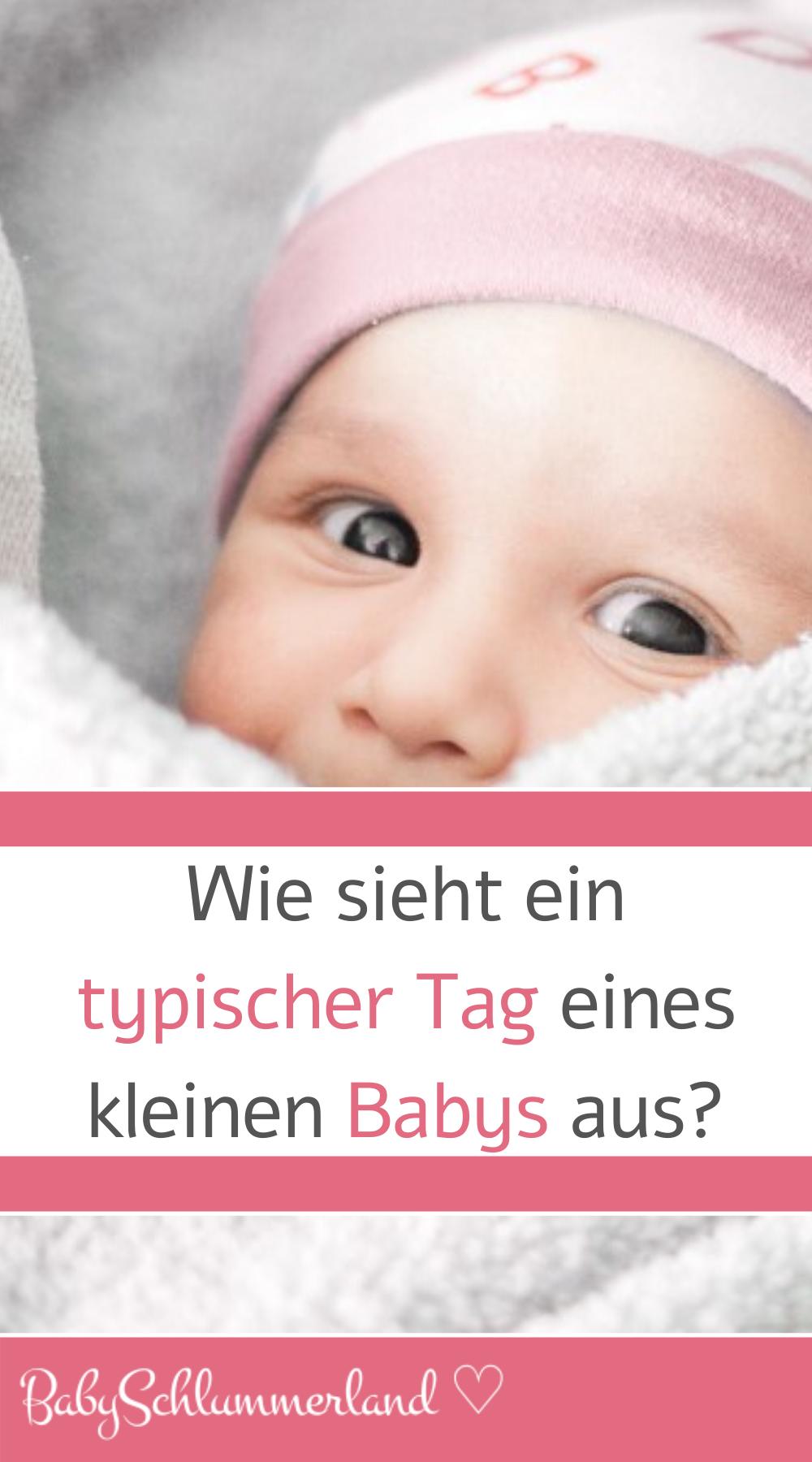 ♥ Möglicher Tagesablauf im Leben eines Neugeborenen (1-2