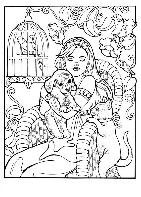 Princess Leonora People Coloring PagesColoring