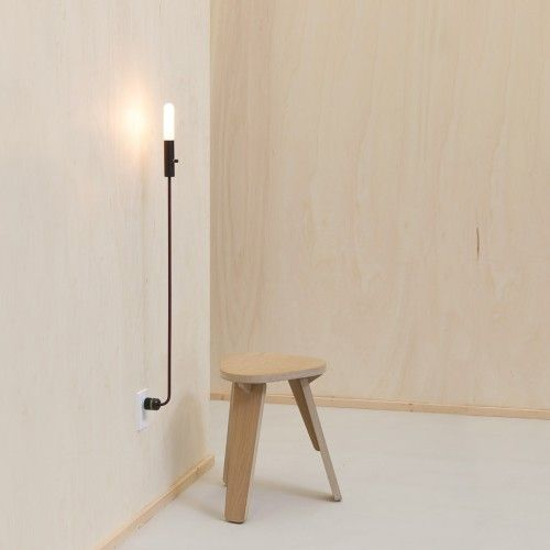 Wald Hi Lo Plug In Lamp By Plugging Directly Into A Wall Socket The Wald Hi Lo Is An Easy To Use Fixture 159 Floor Lamp Diy Floor Lamp Lamp