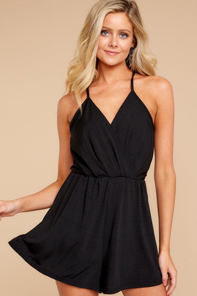 3bfdd76c95c9 Trendy Black Romper - Sexy Black Romper - Romper -  38.00 – Red Dress  Boutique