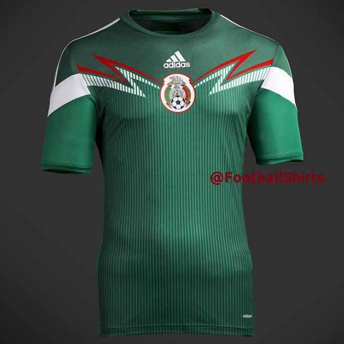 Mexico 2014 World Cup Home Shirt