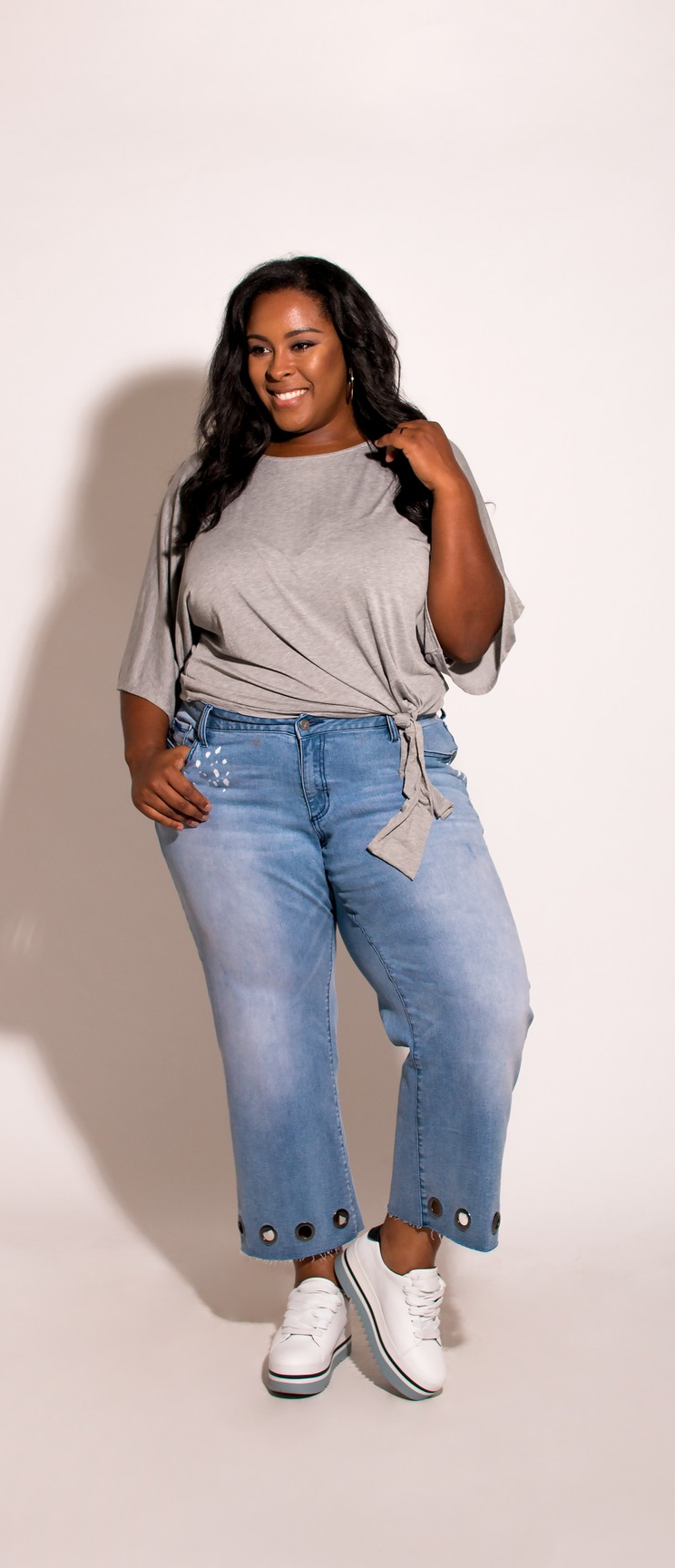 1d83c5a463c4f ✨Shop For Our Janice Cropped Mom Jeans   More  PoeticJusticeJeans.com (Sizes