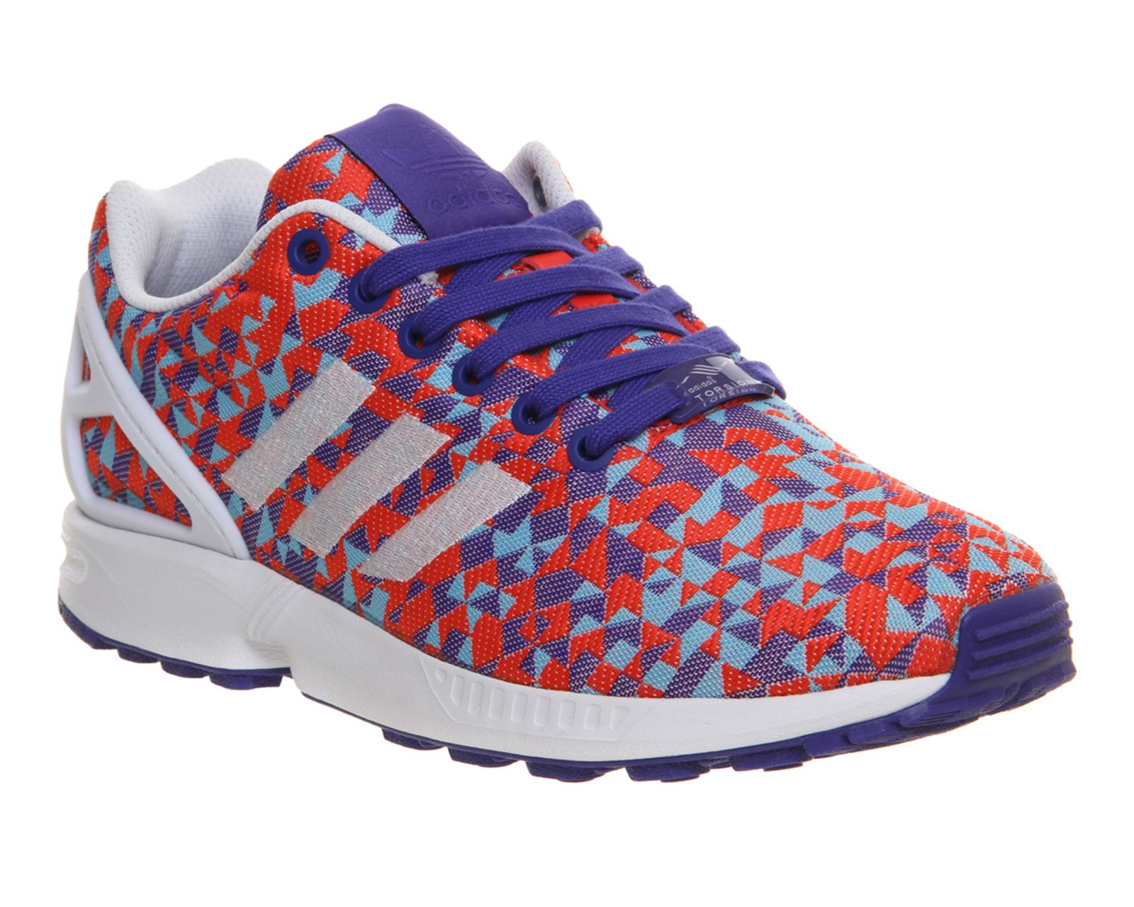 newest 3b8f1 7f13b ... australia adidas zx flux weave night flash white black unisex sports  60f02 258e2