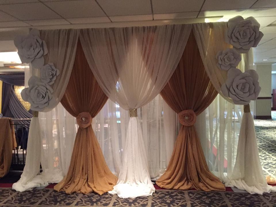 diy wedding backdrop pvc pipe