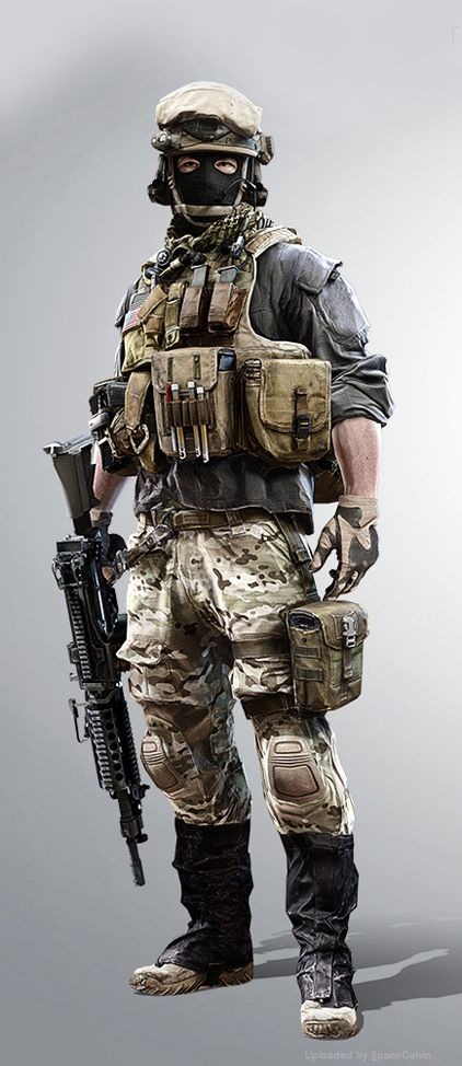 battlefield 4 mp character profiles us large wm support 兵士