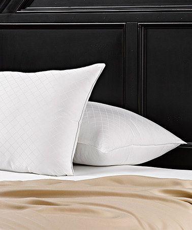 Loving This Ella Jayne Diamond Jacquard Gel Pillow Set