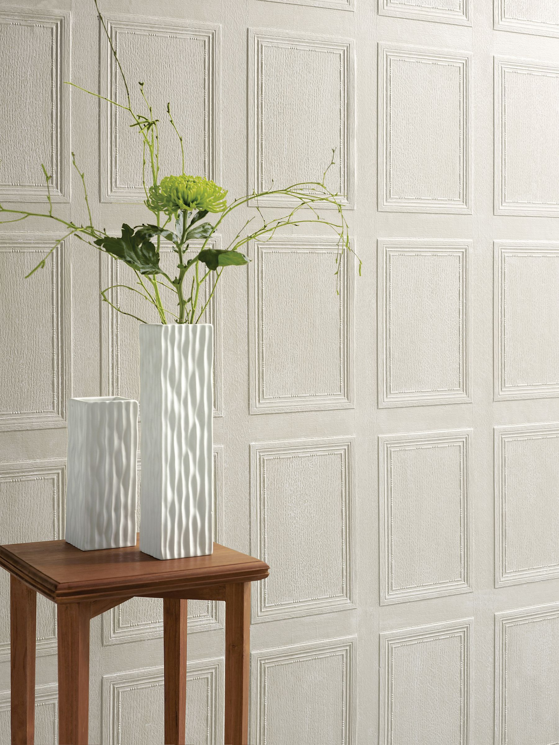 Georgian Panel Paintable Wallpaper By Lincrusta
