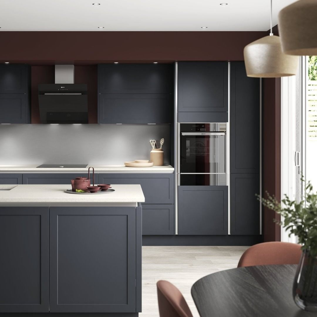 35 Likes 6 Comments Benchmarx Kitchens And Joinery Benchmarxkitchens On Instagram Cambridge Midnight Blue Benchmarx Kitchen Kitchen Kitchen Cabinets