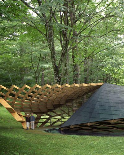 Meeting Center For The Elderly People Wooden Mock Up Rikuzentakata Japan Kengo Kuma Associates Organic Architecture Architecture Architecture Design
