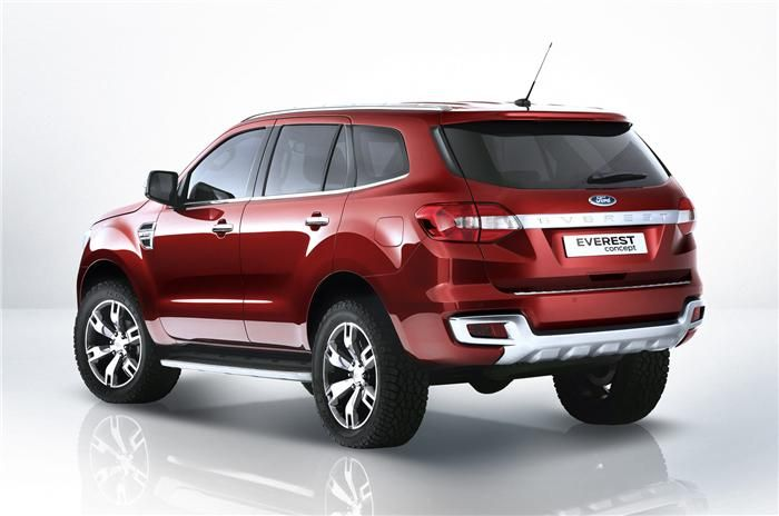 Ford Endeavour To Unfold In India Ahead Of Next Year S Launch