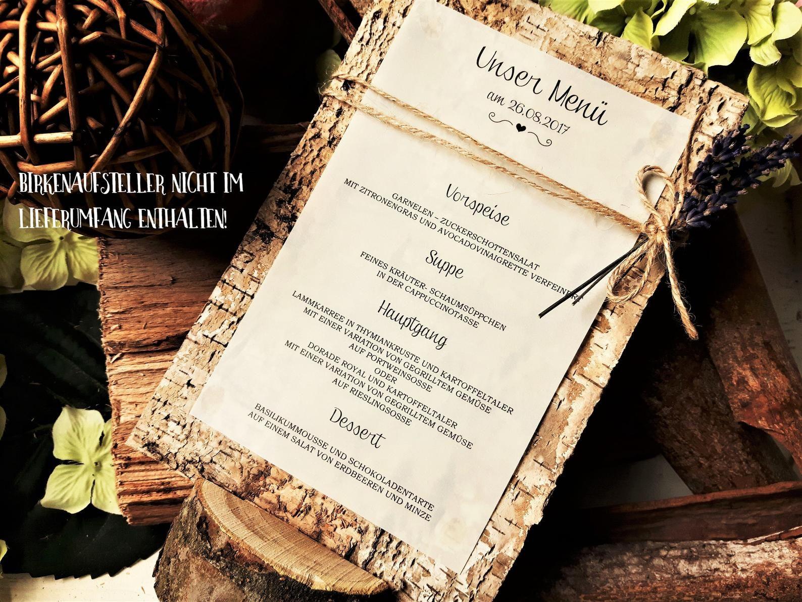 10x Menu Card Menu Wedding Vintage Beverage Card Wood Birch Jute Kraft Paper Drinks Drinks List Buffet Buffet Menus Menu Menu Br In 2020 Getrankekarte Hochzeit Getranke Karte Und Menukarten Hochzeit