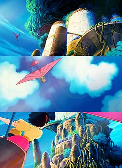 Laputa: Castle in the Sky I just watched this movie and I LOVED it.